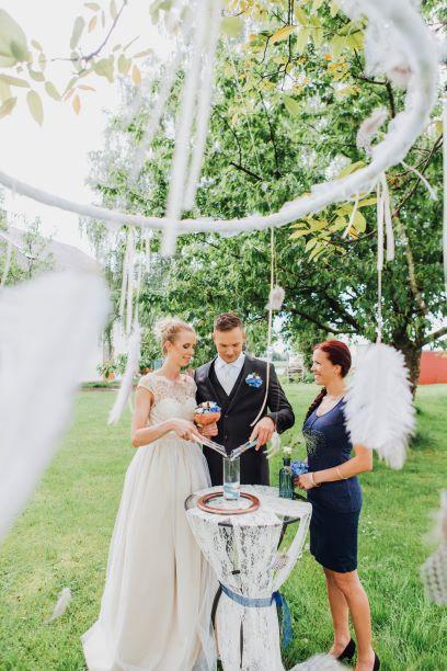Vintage In Blau Und Kupfer Pretty Wild Weddings